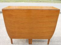 Teak Dropleaf Dining Table to Seat Six People